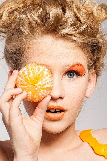 oranges to make your skin glow
