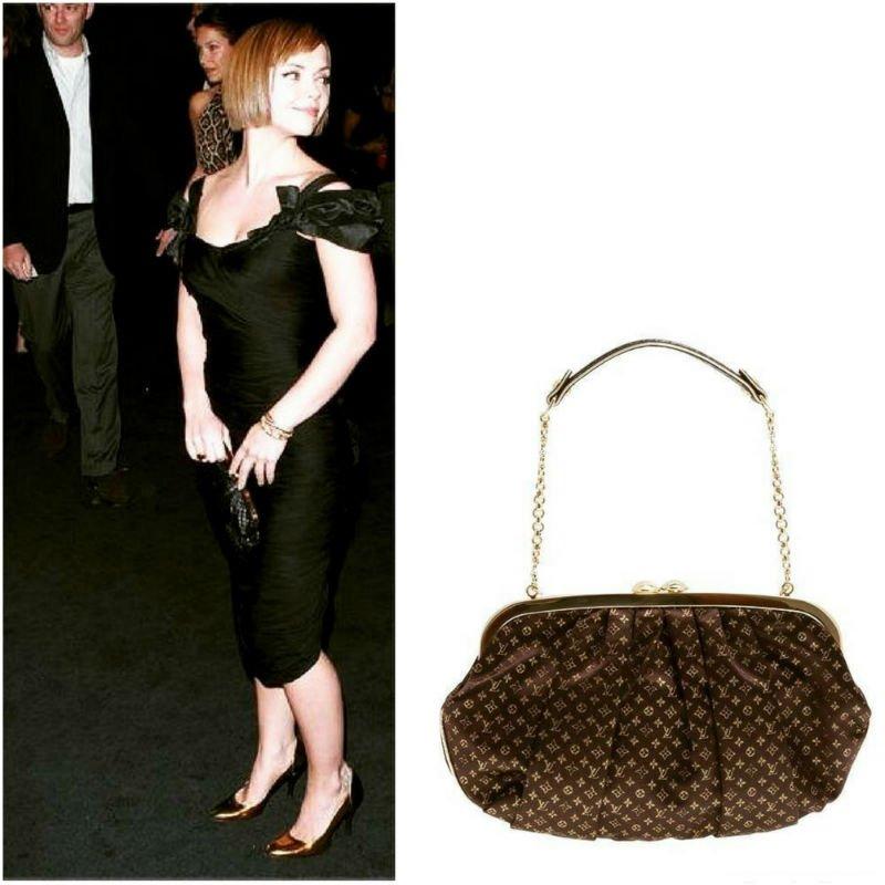 Christina Ricci Carrying Louis Vuitton Aumoniere
