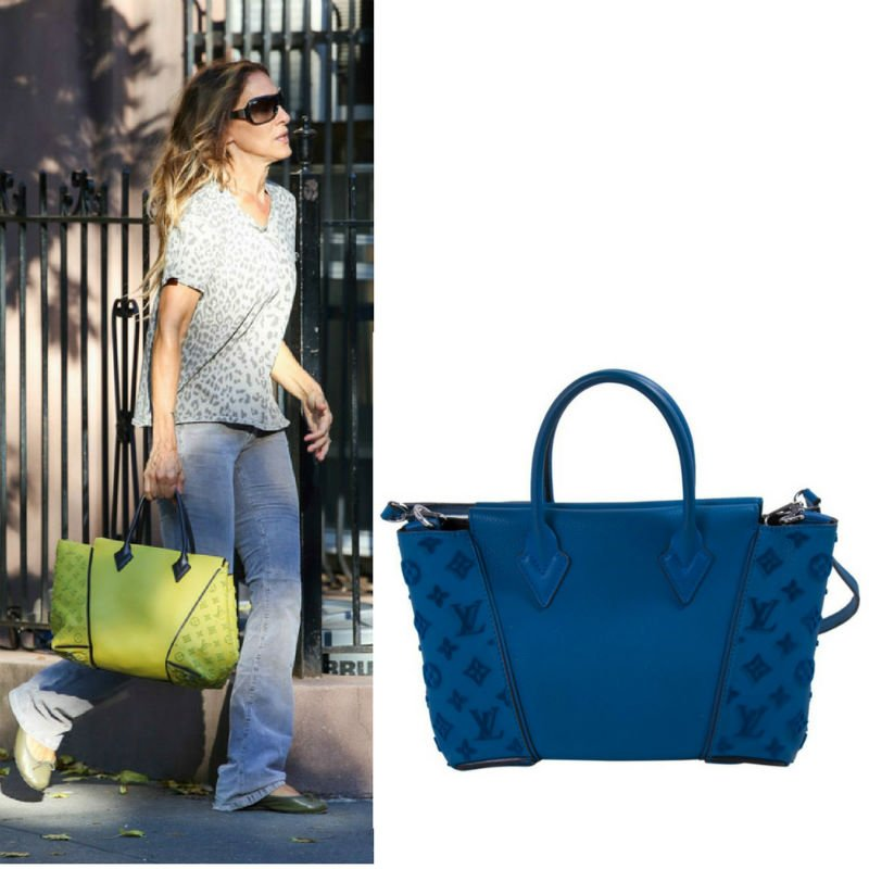Sarah Jessica Parker Carrying Louis Vuitton W