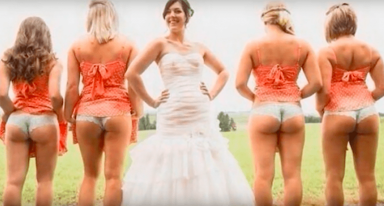 21 Naughtiest Wedding Pictures Of All Time