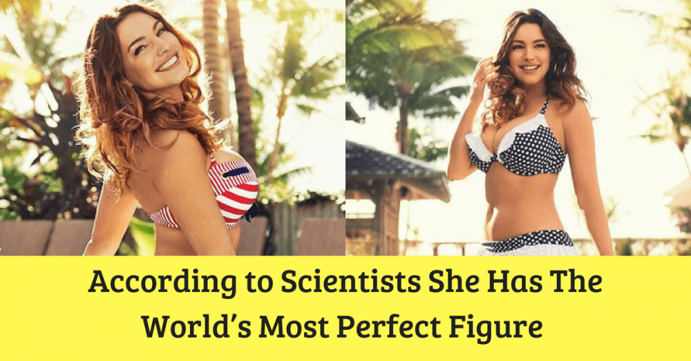 She Has The World's Most Perfect Figure According to Scientists