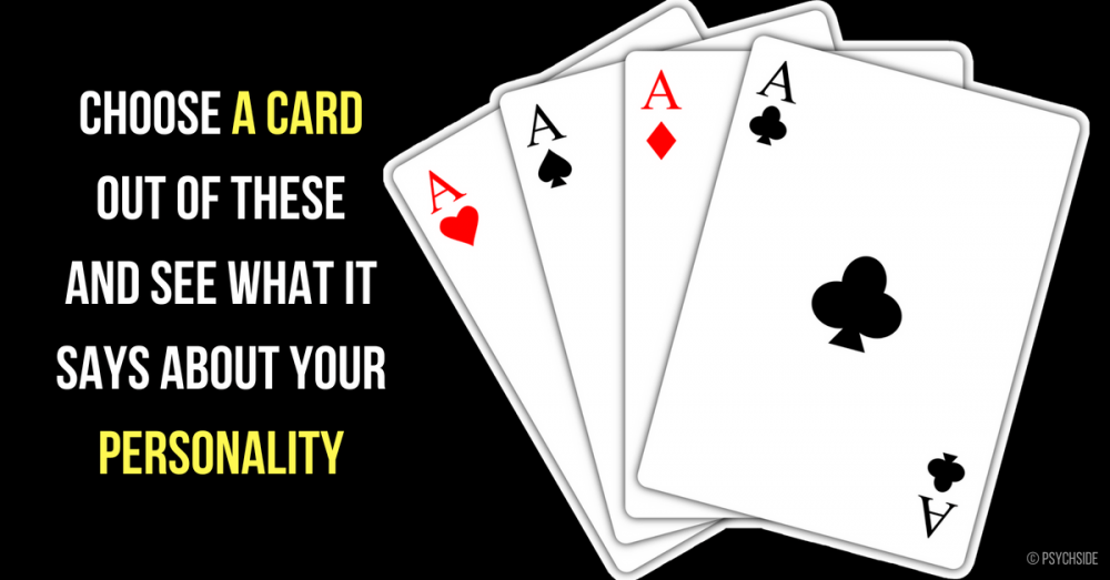 Choose A Card and See What It Says About Your Personality
